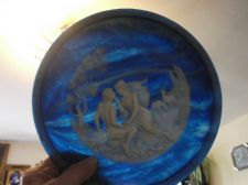 LIMITED EDITION DISPLAY PLATE ISLE OF CIRCE BRUNETTIN LAPIS INVOLAY CAMEO 1984